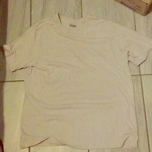 Basic Editions V Neck T-Shirt